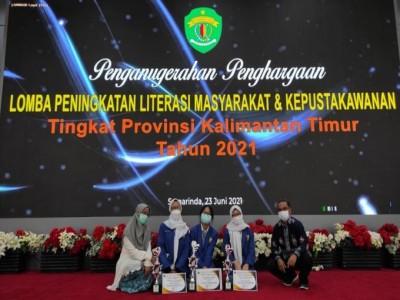 Lomba Peningkatan Literasi Masyarakat dan Kepustakawan Propinsi Kalimantan Timur